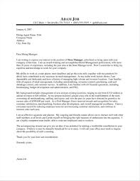Shop Cover Letter For Store Manager Assistant Retail Examples Uk