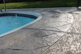 concrete pool decks.  Pool Painting Concrete Pool Deck Intended Decks Y