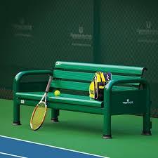 tennis court chairs tennis players bench tennis court seating net world sports