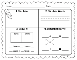 Number Sense Worksheet Worksheets for all | Download and Share ...