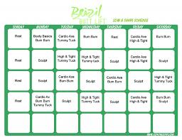 brazil lift slim shape schedule
