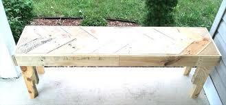 make pallet furniture. Unique Design How To Make Pallet Furniture Diy Chevron Bench 99 Pallets Of