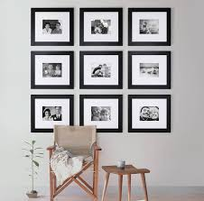 picture frames on wall. Gallery Frame Collection Of 9 Frames Picture On Wall Notonthehighstreet.com