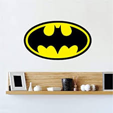 Unleash gotham onto your home with officially licensed batman wall decals and decor from fathead. Amazon Com Batman Art Kids Room Decor Home Decor Home Kitchen