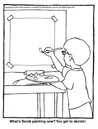 Coloring: Painting Coloring Pages