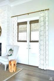 roman shades for sliding glass doors patio door blinds kitchen medium size of curtain ideas