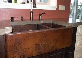 rare concrete countertop with copper sink photo inspirations breathtaking concrete countertop with copper sink picture inspirations