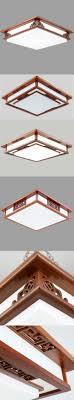 Asian Ceiling Lights Asian Chinese Style Ceiling Lamp Led Mahogany Finish Wood