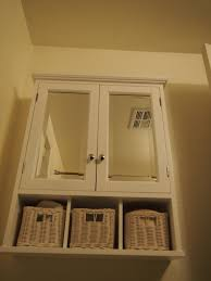 Recessed Bathroom Mirror Cabinets What Decor Matches With White Bathroom Sink Cabinets