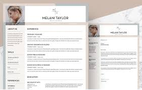 create a modern resume template with word template free creative resume templates word creative