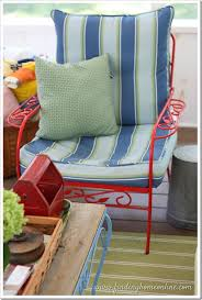 cushions for vintage outdoor furniture