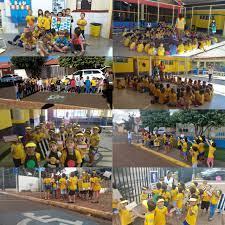 Maio Amarelo | Centro de Educação Infantil Ilidia Lacerda de Almeida  abraçando com amor o trânsito de Costa Rica