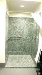 shower floor paint bathroom unique for concrete pan s