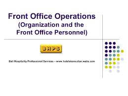 14100484 Hotel Front Office Department