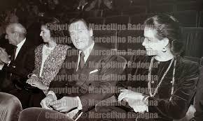 Marcellino Radogna - Fotonotizie per la stampa: Alberto Sordi e Marisela  Federici