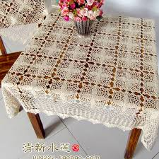 Decorative Table Cloths Designs free shipping ZAKKA fashion design square lace tablecloth for 2