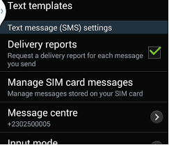 Dilivery Report Android Enable Sms And Mms Delivery Report