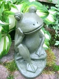 frog yard art full image for concrete statue garden saint statues diy golfing metal ar concrete outdoor decor ideas garden rhubarb leaf moulds