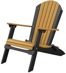 adirondack chairs. Picture Of LuxCraft Poly Folding Adirondack Chair Chairs