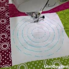 582 best QUILT--FREE MOTION images on Pinterest | Free motion ... & Machine Quilting Circles for Beginners Adamdwight.com