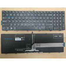 Bàn Phím Laptop Keyboard Dell Inspiron 15 3000 5000 3541 3542 3543 3551  3558 5542 5545 5547 5558 5559 Series