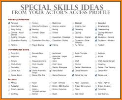 6 Skills For A Resume Examples Phoenix Officeaz