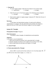 find the size of each exterior angle of a regular hexagon. 40. 40 i. exercise 20 1. for each regular polygon, determine the measure of an exterior angle. find size angle a hexagon n