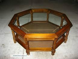 Ouija Board Coffee Table Octagon Glass Display Coffee Table Octagon Coffee Table
