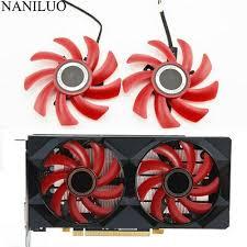 <b>2PCS</b>/<b>lot 85MM</b> Fan RX 550/560 Cooler Video Card Fan For ...