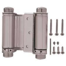 spring loaded hinges for door. amazing hinges kason 1248 pair flush reversible spring assist in loaded door hinge for b