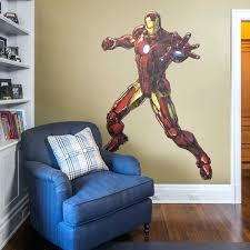 marvel wall stickers iron man avengers assemble life size officially licensed marvel removable wall decal fathead