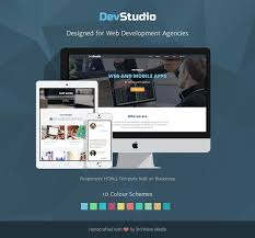 Responsive Web Design Bootstrap Examples Bootstrap 4 Template For Web Development Agenceis Developers