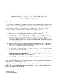 Collection Of Solutions Sample College Recommendation Letters For