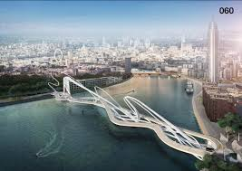 Small Picture This concept design of a bridge over the river Thames in London