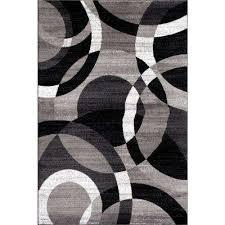 contemporary modern circles gray area