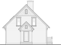 Lake Front Plan: 1,356 Square Feet, 3 Bedrooms, 2 Bathrooms - 034-01040