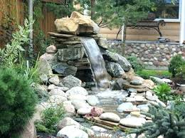 backyard ponds and waterfalls. Delighful Waterfalls Fascinating Pond Waterfall Ideas Small Backyard Ponds Makeovers Inside And Waterfalls 0