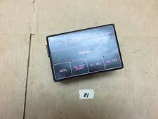 nissan fuse car truck parts 89 94 nissan 240sx s13 engine bay fuse box cover poor