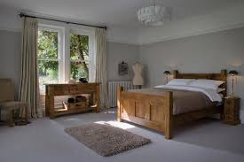 Plank Bedroom Furniture The Georgian Panel Plank Bed By Indigo Furniture