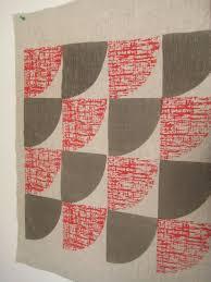Smitten Design Handprinted Textiles By Smitten Design Textiles Retro Metro