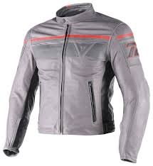 image for larger version name dainese blackjack leather jacket grey 1492218434976 jpg views 282 size 652 8