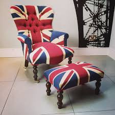 outstanding union jack chair creative ideas fashionable vintage style union jack on back lounge chairs