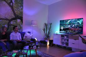 Philips Hue Lights Living Room Philips Hue Go Amazon Fr Luminaires Et Eclairage