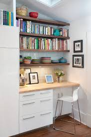 office in kitchen. cookbook design home office contemporary with in kitchen open shelving white cabinet