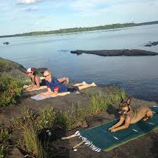 sewall house yoga retreat yoga on loon ledge in the middle of mattawamkeag lake