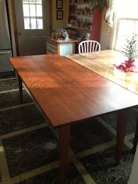 Kitchen Table Legs For Beautiful Red Oak Table Featuring Tapered Dining Table Legs