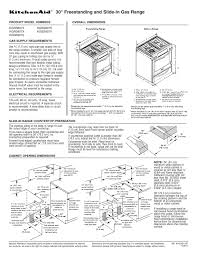 kitchenaid range kgss907s search electric slide in ranges user manuals com