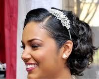 Coiffure Mariage Cheveux Court Femme Noire
