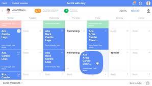 Workout Builder Calendar Features Workoutlabs Train