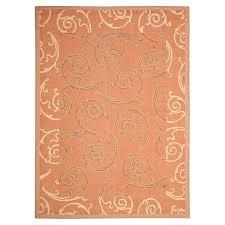 6x9 area rugs under 100 orange